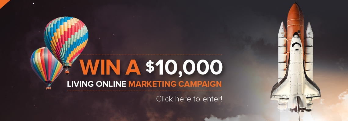 Win a $10,000 online marketing campaign