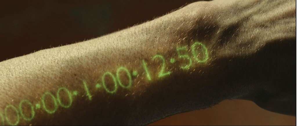 Arm clock from the movie 'In-Time' with Justin Timberlake