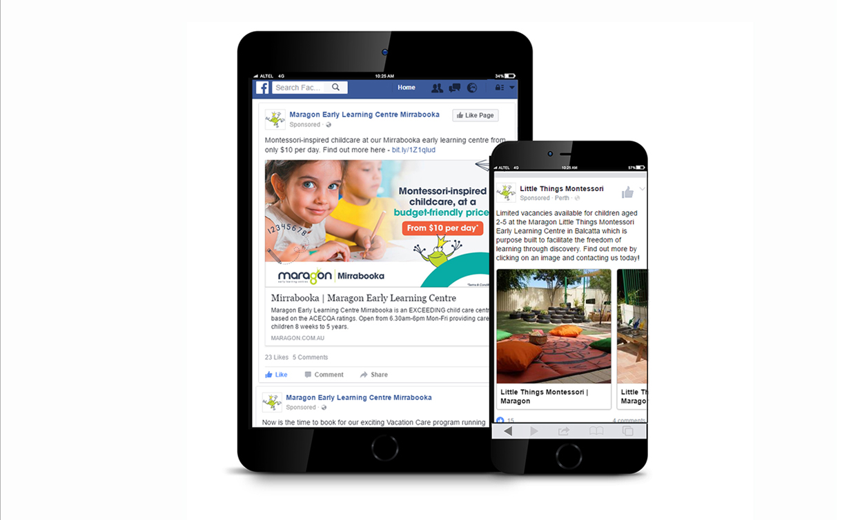 Facebook Advertising - Maragon Early Learning Centres Case Study