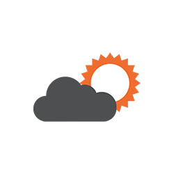 Projections and forecasting icon