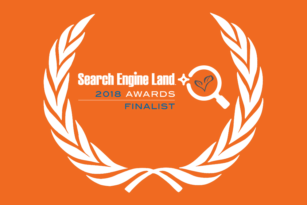 Search Engine Land Awards - Living Online Shortlisted as a Finalist