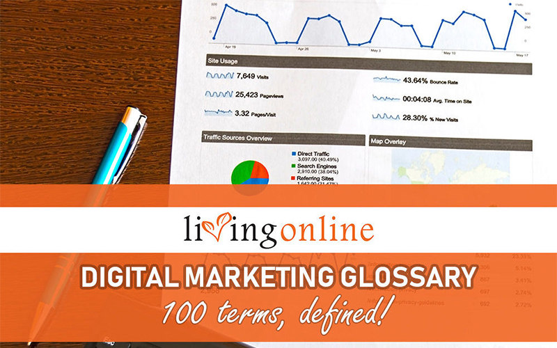 living online digital marketing glossary