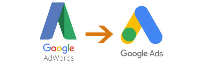AdWords is now Google Ads