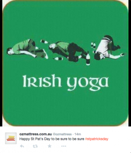 Irish Yoga BedBuyer post