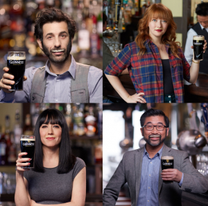 Guinness's '#showyourstache campaign