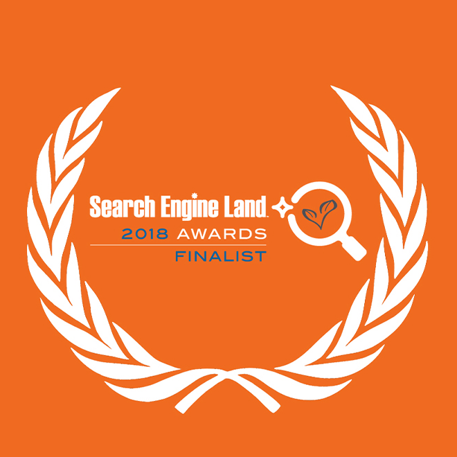 2018 search engine land awards finalist 2018