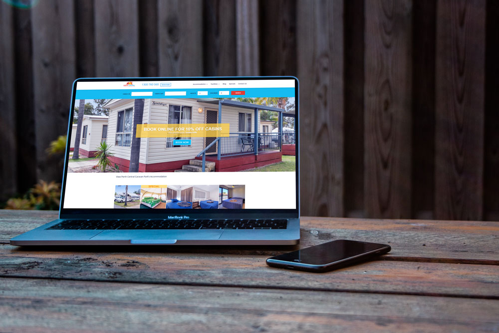 Conversion Rate Optimisation - Perth Central Caravan Park