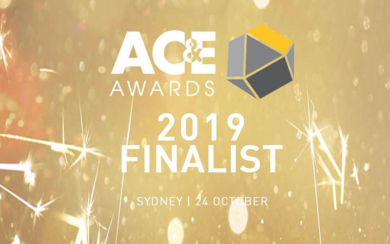 AC&E Awards 2019 Finalist