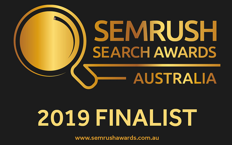 SEMrush Search Awards Finalist 2019 - Living Online