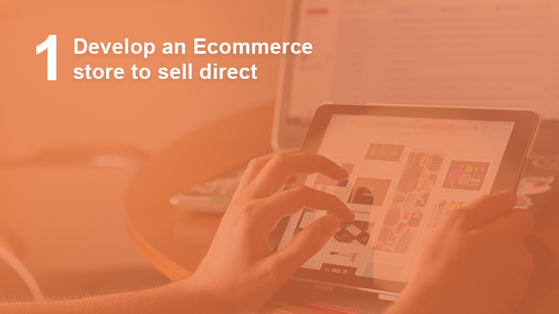 Develop an ecommerce store