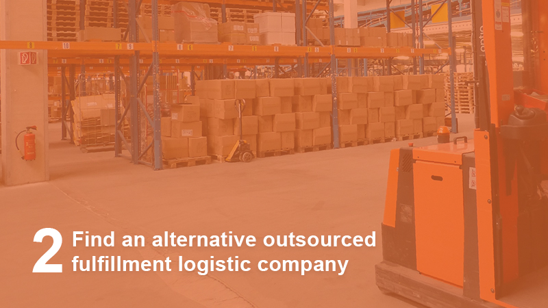 Find alternative logistics company
