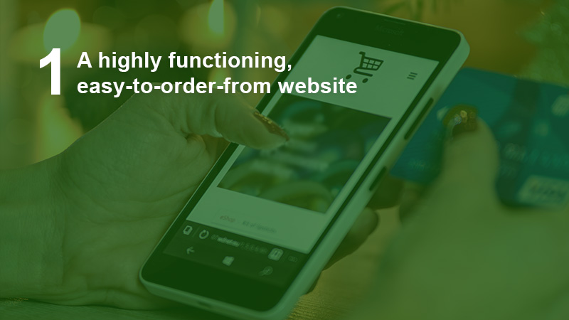 have a highly functioning website