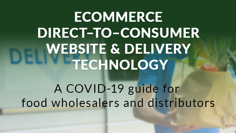 Ecommerce direct-to-consumer website and delivery technology