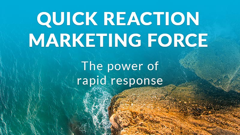 Rapid response marketing force