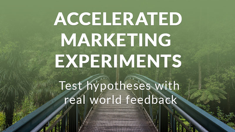 accelerated marketing experiments