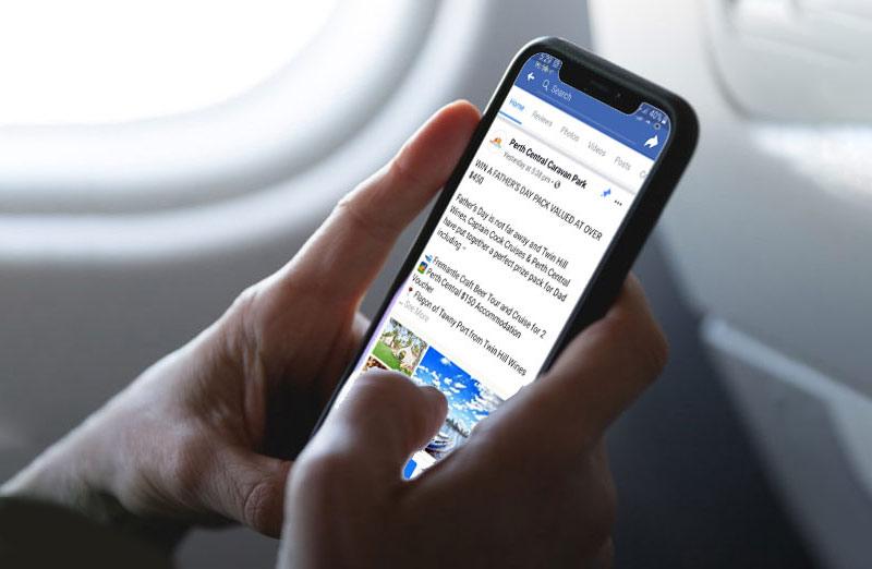 Perth Central - social media marketing