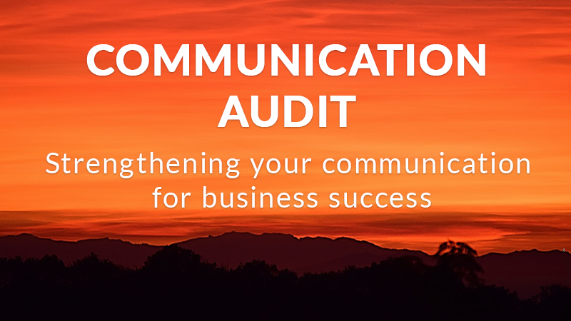 communication audit header