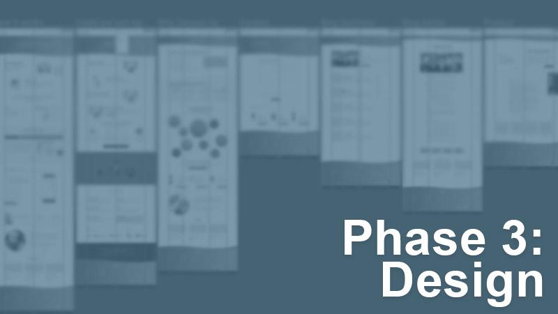 Design phase of web design