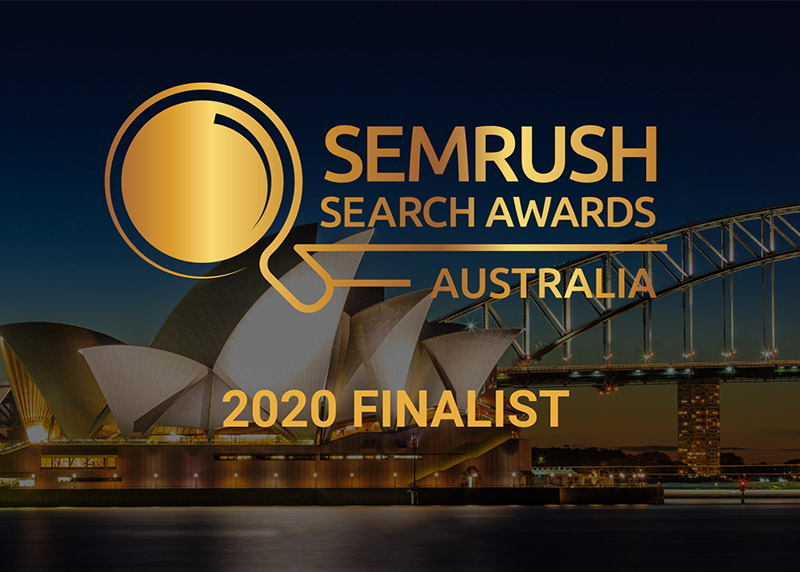 Living Online SEMRush Awards 2020