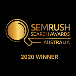 SEMrush Award Winner 2020
