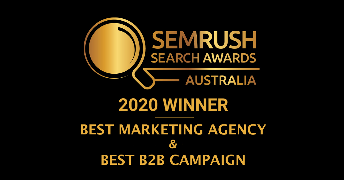 SEMrush Award Winner